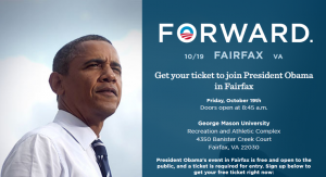 Obama to visit GMU Friday, Oct. 19, 2012