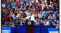 President Barack Obama held a campaign event at George Mason University Friday, marking his second visit to GMU this month.  Mason Votes was there to cover all angles of his […]