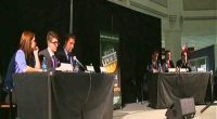 """College Republicans and GMU Democrats held a debate on Friday, November 2, 2012 in GMU's Johnson Center Atrium at an event titled, """"First of All We Vote: GMU Presidential Debate […]"""