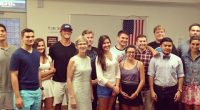 On September 11, 2013 the College Republicans on Campus had their first meeting of the year. The new Executive Board for the year consist of Chairman Joe Caldarera, Vice Chairman Alex Colorado, […]
