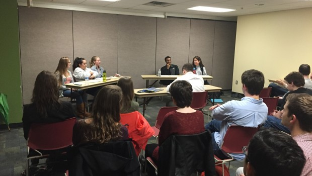 February 24, 2016 — At the first Democratic student debate, discussing the potential of a Hillary Clinton or Bernie Sanders White House administration,studentparticipants tried to wedge their opposition on how […]
