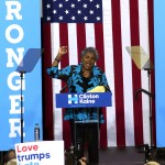Interim Chairperson of the Democratic National Committee, Donna Brazile.