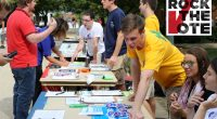 "FAIRFAX, VA – George Mason students from all political parties came together on Wednesday, September 21st to ""Rock the Vote"" on North Plaza. The event was co-sponsored by the College […]"