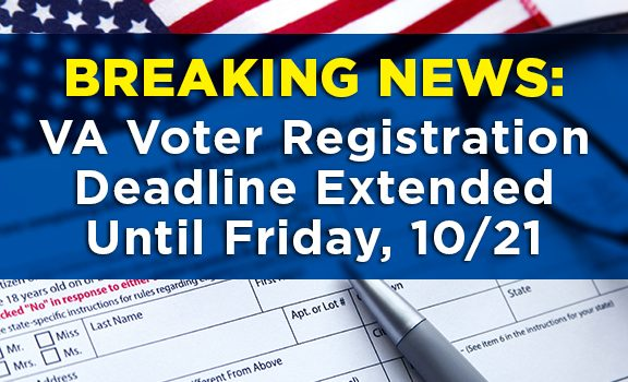 Fourth image of Voter Registration Deadline This Friday with Mason Votes