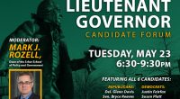 Lieutenant Governor Candidate Forum May 23 at Mason's Fairfax Campus George Mason University's Schar School of Policy and Government, in partnership with the Northern Virginia Chamber of Commerce and Virginia […]