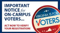 Just in from the Fairfax County Office of Elections: The Fairfax County Office of Elections is extending the deadline to make corrections to Mason campus voters who included inaccurate […]