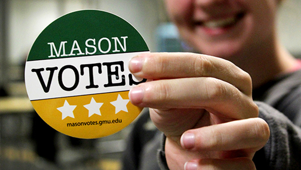 George Mason University was awarded a Platinum Seal for Excellence in Student Voter Engagement by the ALL IN Campus Democracy Challenge* on November 12, 2019. Platinum Seal campuses met or exceeded 50% […]