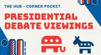 The first 2020 Presidential Debate is happening Tuesday, September 29th at 9pm. Join Mason Votes for an in-person Debate Watch Party at the Corner Pocket in The Hub (Fairfax Campus)! […]