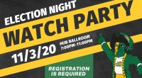 Registration Required! 7-11pm in The Hub Ballroom If you are on the Fairfax campus and want to watch results with others, RSVP for Mason's Election Night Watch Party: masonvotes.gmu.edu/events/election-night-watch-party 7-11pm […]