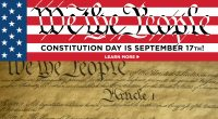Constitution Day is Friday, September 17, 2021! Each year, Americans celebrate the signing of the U.S. Constitution by the founders on September 17, 1787. Learn more about the Constitution: studentmedia.gmu.edu/constitutionday […]