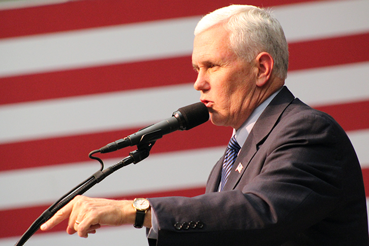 Mike Pence Campaigns at Mason | Mason Votes