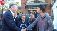 Tim Kaine is hoping Virginians select him as the next US Senator. He takes time to answer questions about his campaign, student debt, and more.