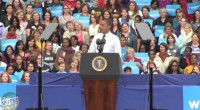 For the second time in less than a month President Barack Obama held a grassroots rally at George Mason University in Fairfax, Virginia. The President talked jobs and the economy, […]