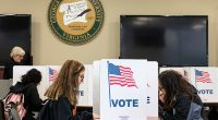Story by: Mary Lee Clark | Photos by: Lathan Goumas Rain or shine, George Mason University students showed up for the midterm elections. Students demonstrated civic responsibility by casting their […]