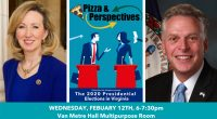 "Please join us at the Arlington Campus for our next ""Pizza & Perspectives"" program featuring former Rep. Barbara Comstock and former Virginia Governor Terry McAuliffe. Join them as they discuss […]"