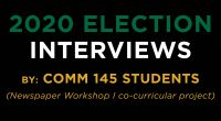 Mason Students Share What's Motivating Them in 2020 Students in Communication 145 (Newspaper Workshop I) were assigned to interview their peers on why voting is important and which issues were […]