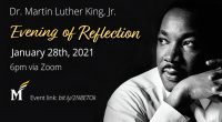 Join Us for an Evening of Reflection Mason's celebration of Rev. Dr. Martin Luther King, Jr. will take place on Thursday, January 28, 2021 from 6-8:30pm with an Evening of […]